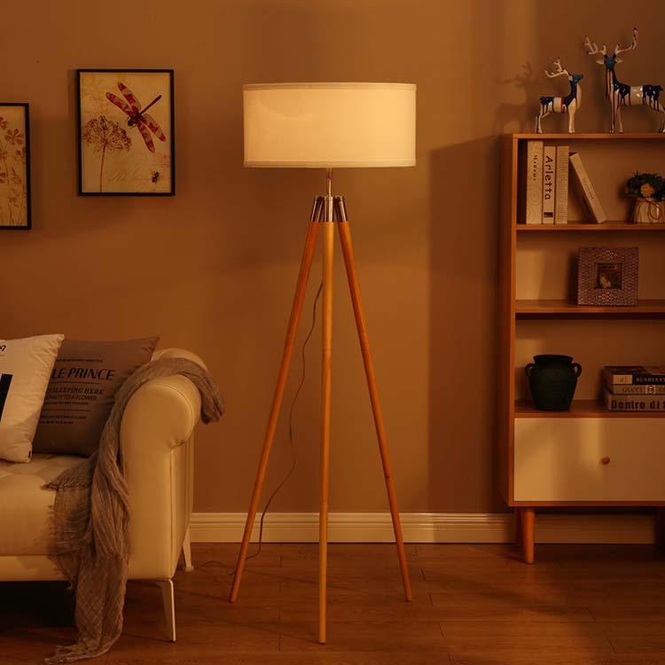 Mid-Century Modern Tripod Floor Lamp 3