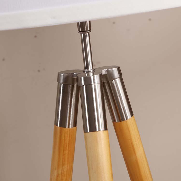 Mid-Century Modern Tripod Floor Lamp details 1