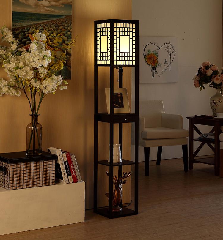 Modern Etagere Floor Lamp 2
