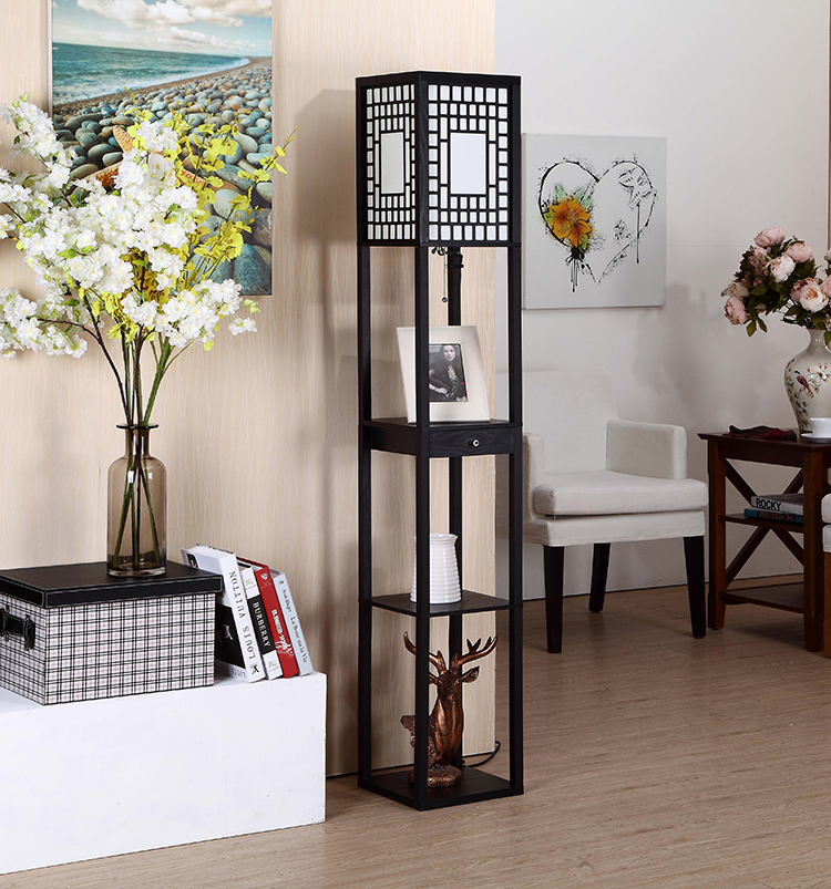 Modern Etagere Floor Lamp 3