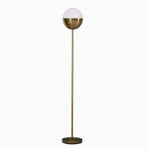 olejová třená bronzová stojací lampa, moderní stojací lampa, stojací lampa vedená |  Dobře světlo-GL-FLM05