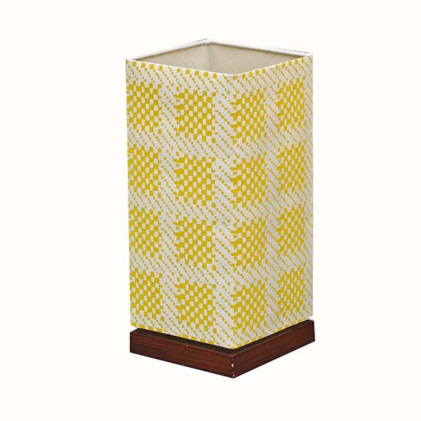 Modern Nightstand Lamp with Square screen nice Fabric Lamp Shade 1