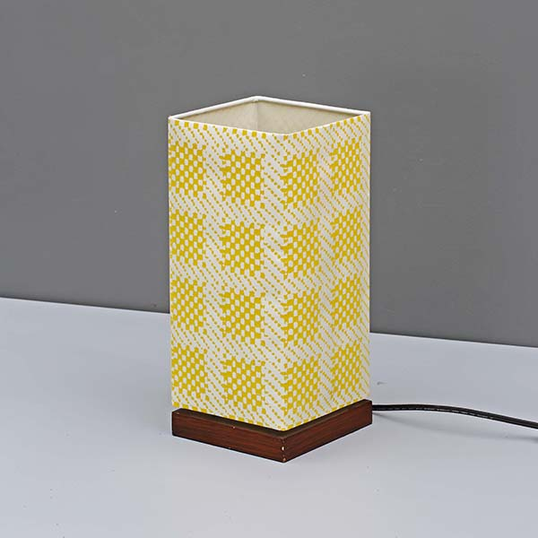 Modern Nightstand Lamp with Square screen nice Fabric Lamp Shade 2