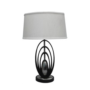 modern wood table lamp,wood and metal table lamp | Goodly Light-GL-TLW040