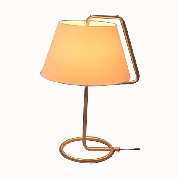 contemporary table lamp | nickel table lamp | Goodly Light-GL-TLM007 Featured Image