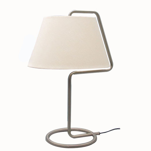 Modern simple Style Brushed Table Lamp