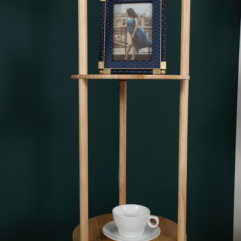 Natural Wood Floor Lamp-6
