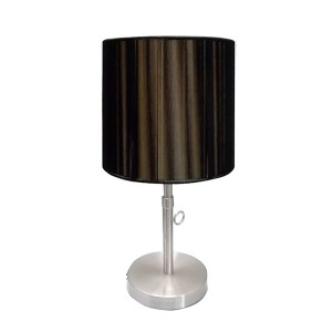 black table lamp shades | black metal table lamp | Goodly Light-GL-TLM006