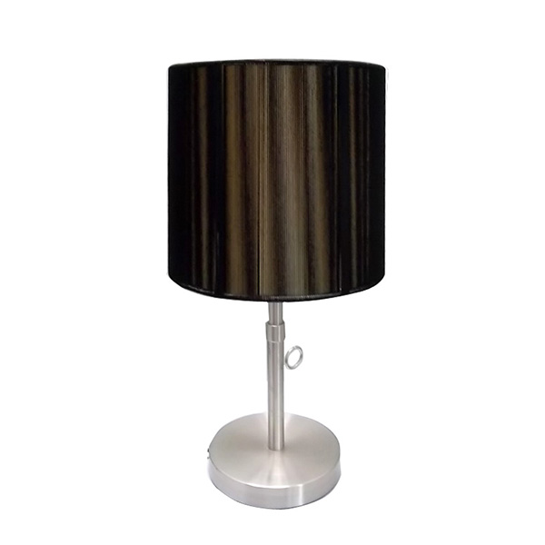 Nickel Mini Basic Table Lamp 1
