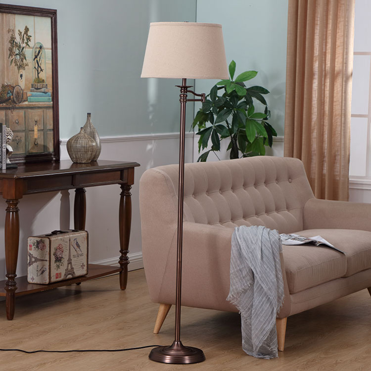 Oil Rubbed Bronze,Swing Arm Floor Lamp 1