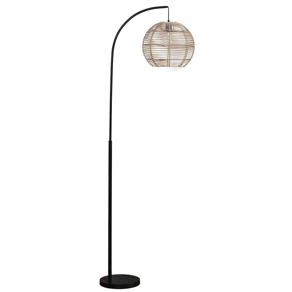 Rattan Floor Lamp-1
