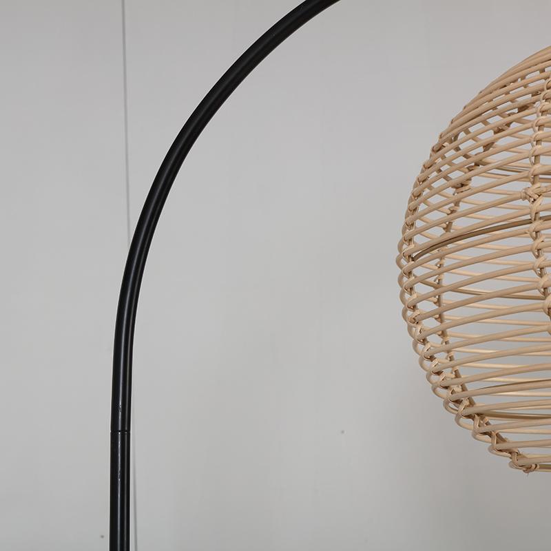 Rattan Floor Lamp-6