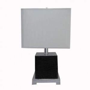 چمڑے کی میز چراغ |  آئتاکار ٹیبل لیمپ |  اچھی طرح سے لائٹ GL-TLM025