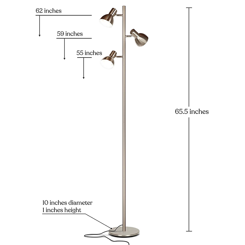 Silver Standing Lamp-2