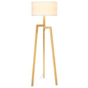 Stojací lampa na stativ, stojací lampa ze dřeva |  Dobře světlo-GL-FLW016