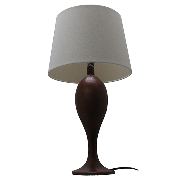 Solid Vintage Table Lamp Base,Industrial Wooden Desk Lamps 1
