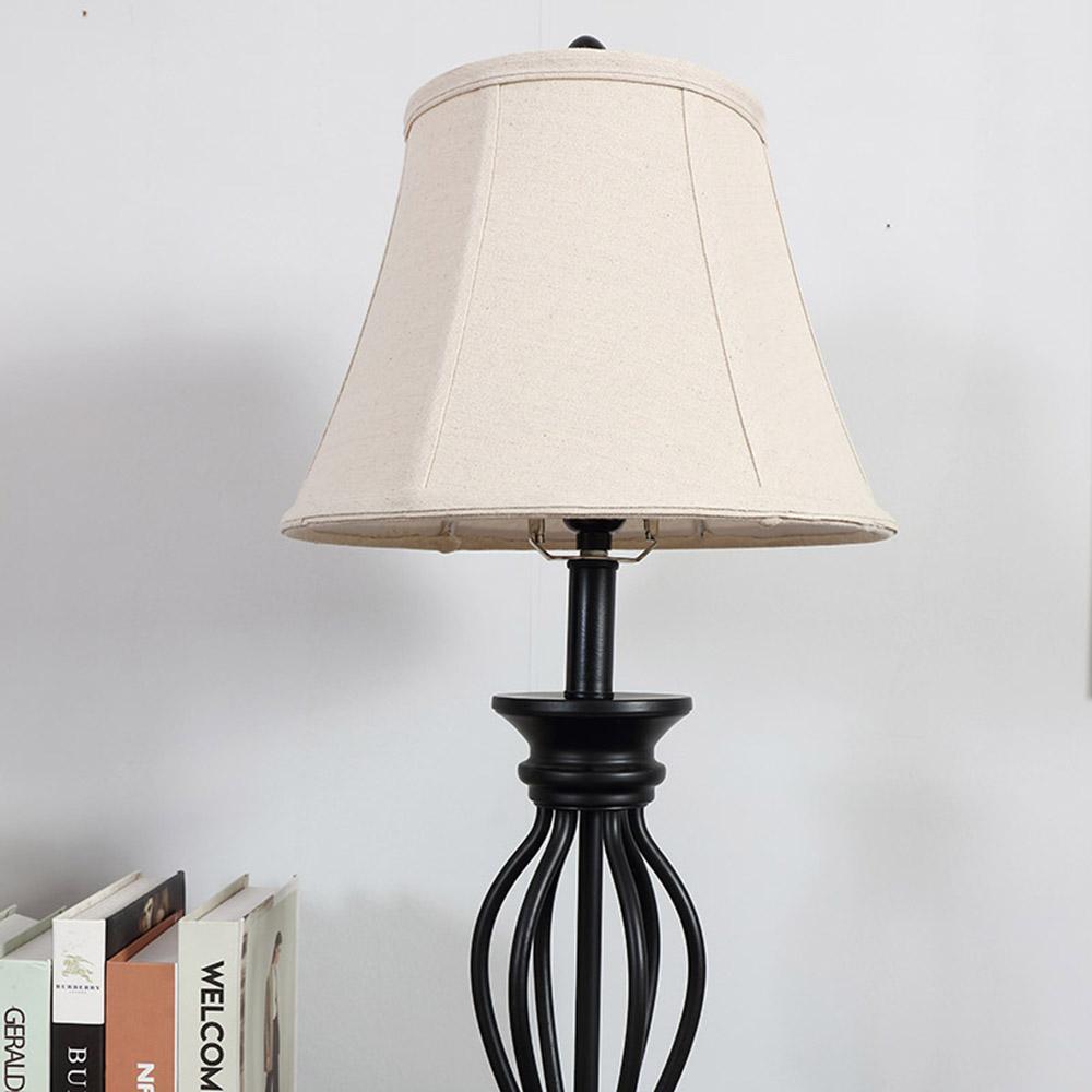 Table Lamp Wood Base-6