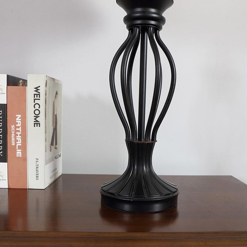 Table Lamp Wood Base-7