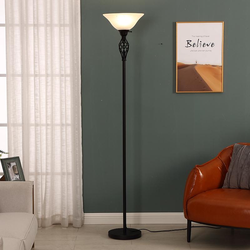 Vintage Gold Floor Lamp-5