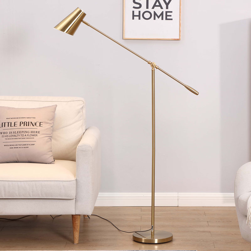 Lamp installation – floor lamp installation