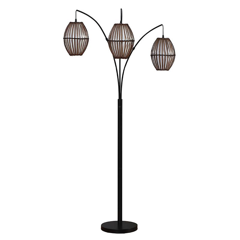 arc metal floor lamp-1