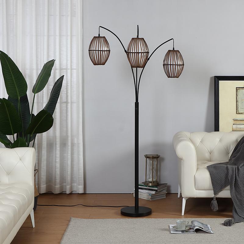 arc metal floor lamp-2