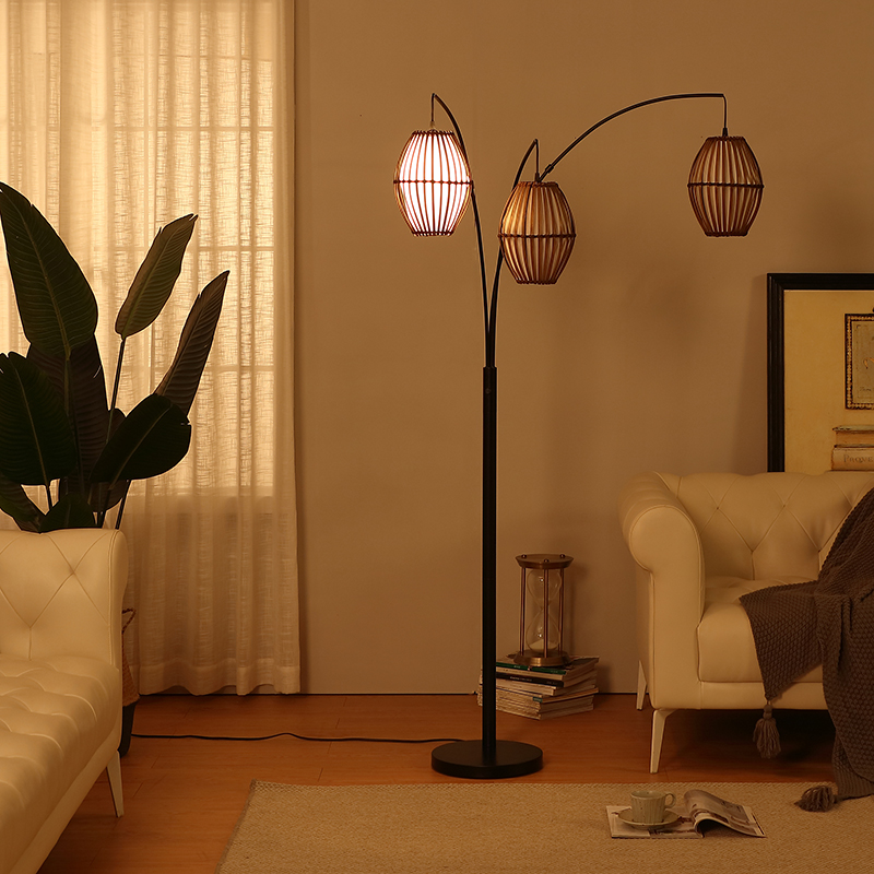 arc metal floor lamp-4