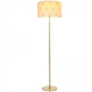E26 Bulb Socket Floor Lamp,antique brass floor lamp | Goodly Light-GL-FLM023