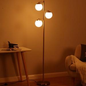 tree floor lamp,3-head metal globe floor lamp   Goodly Light-GL-FLM13
