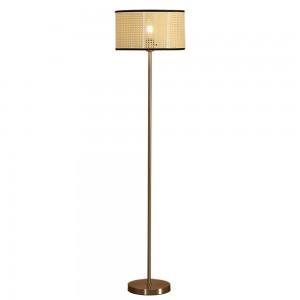 brushed gold floor lamp-1