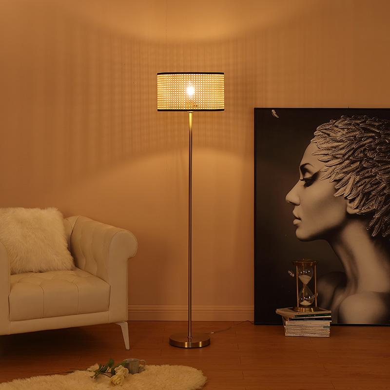 brushed gold floor lamp-3