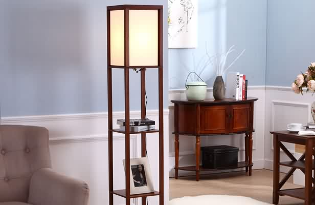 Shelf Floor Lamp