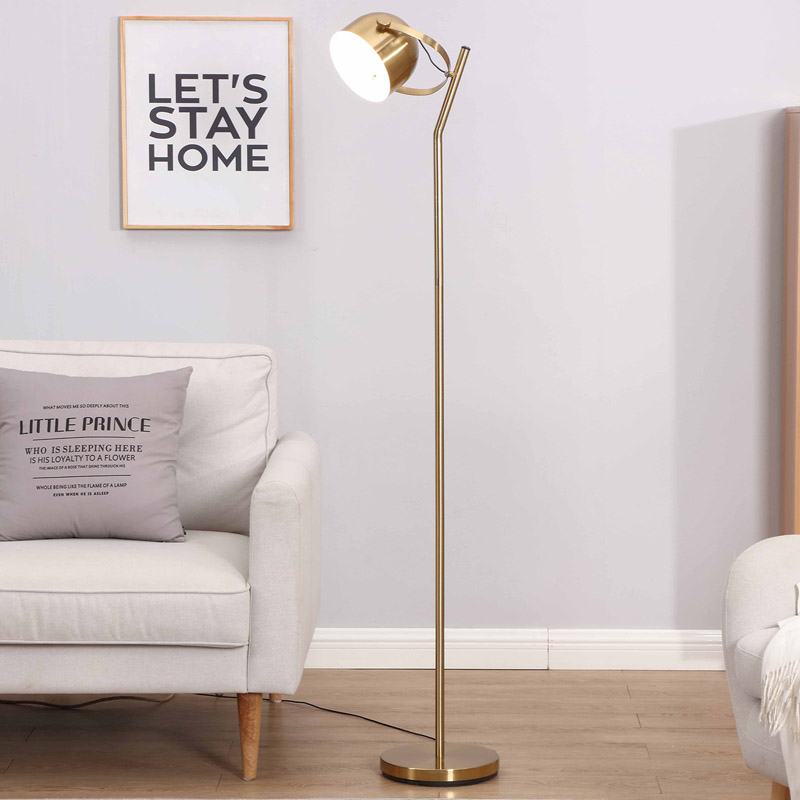 What kind of place suits decoration floor lamp?