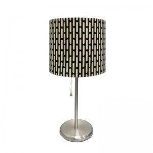 nickel table lamp | lamp for vanity table | Goodly Light-GL-TLM004