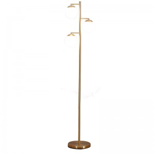 tree floor lamp,3-head metal globe floor lamp | Goodly Light-GL-FLM13