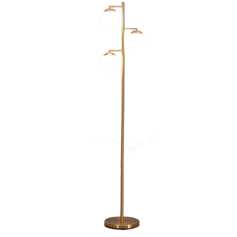 tree floor lamp,3-head metal globe floor lamp   Goodly Light-GL-FLM13 Featured Image