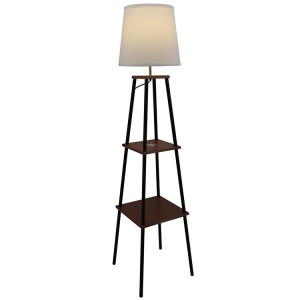 floor lamp with charging station-1