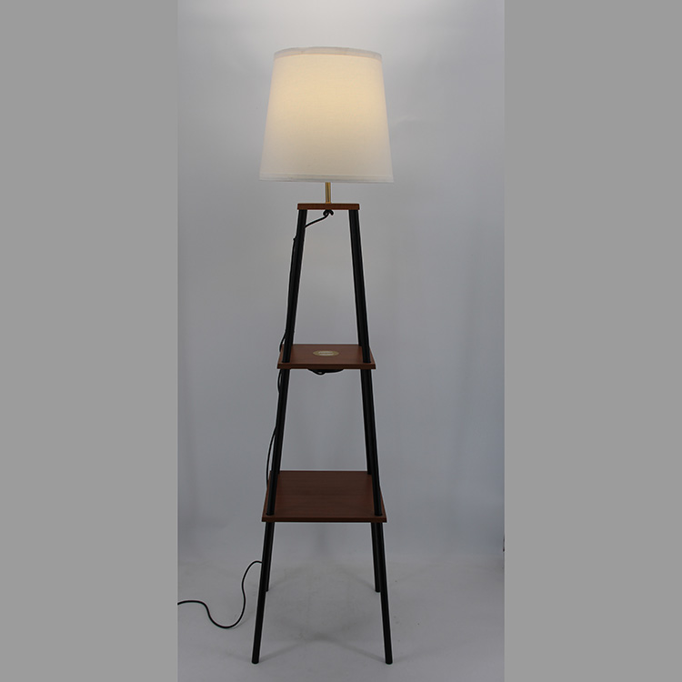 floor lamp with charging station-3