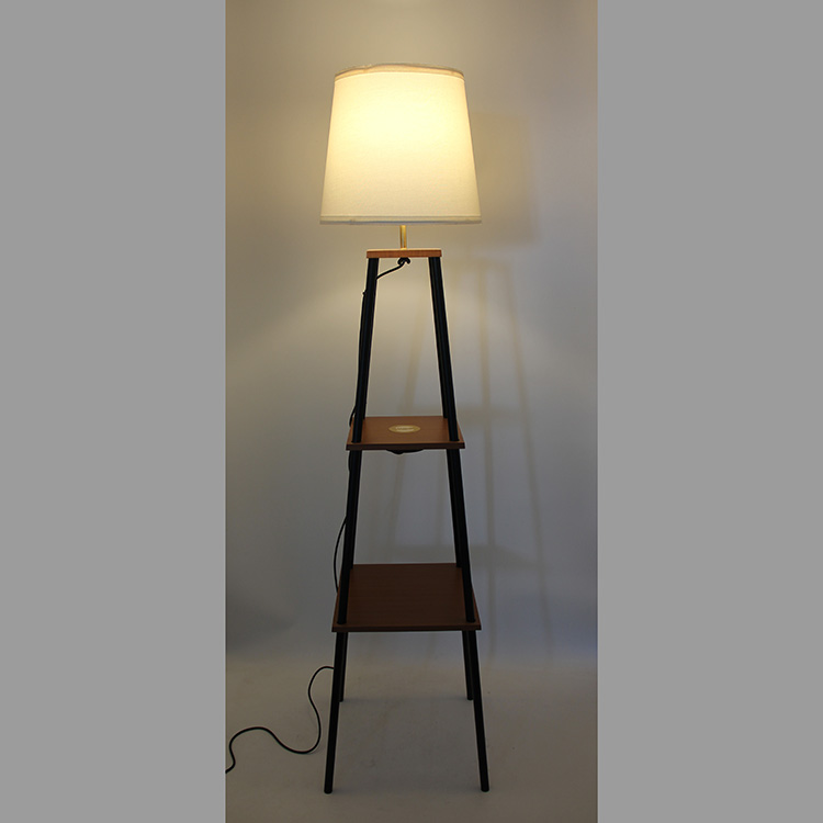 floor lamp with charging station-4
