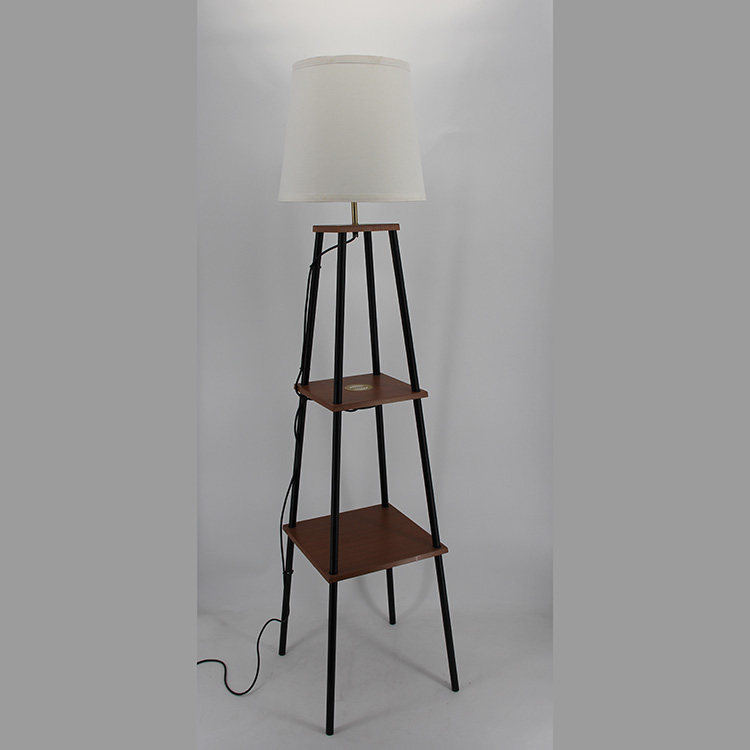 floor lamp with charging station-5