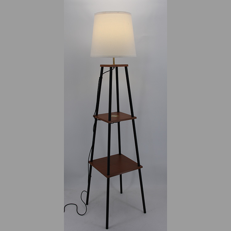 floor lamp with charging station-6