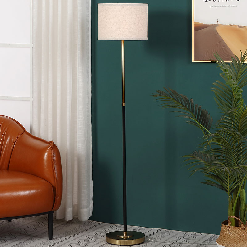floor lamps gold base-4