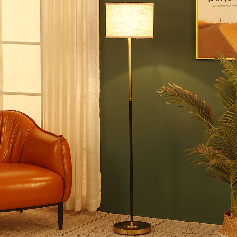floor lamps gold base-5