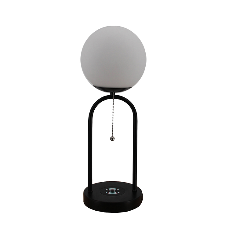 glass and metal table lamp-1