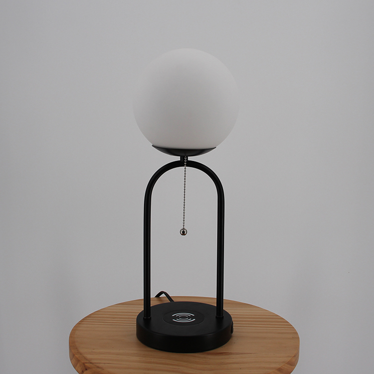 glass and metal table lamp-2