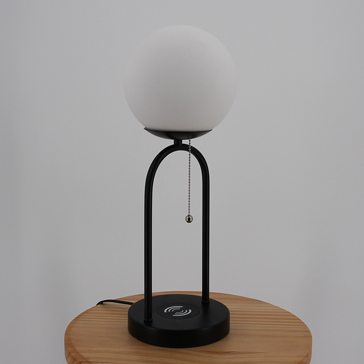 glass and metal table lamp-3