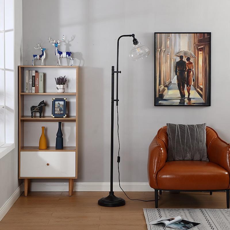 hammered metal floor lamp-5