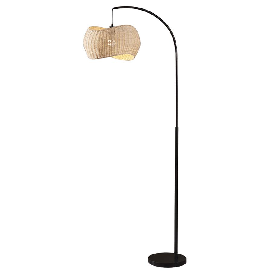 iron pipe floor lamp-1