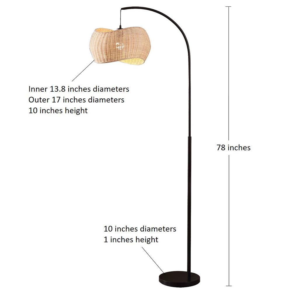 iron pipe floor lamp-2