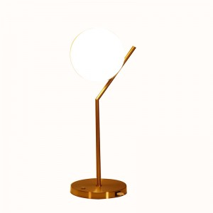 table lamp usb port | end table lamp with usb port | Goodly Light-GL-TLM001-USB